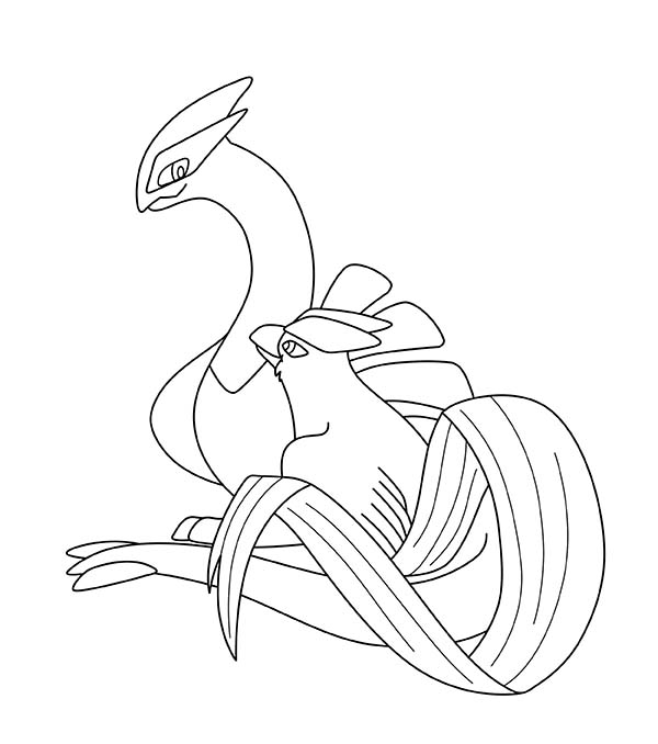 Download Print It Articuno Pokemon Coloring Page