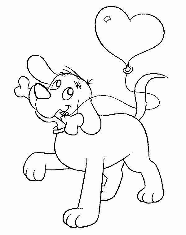 download print it - Clifford Coloring Pages