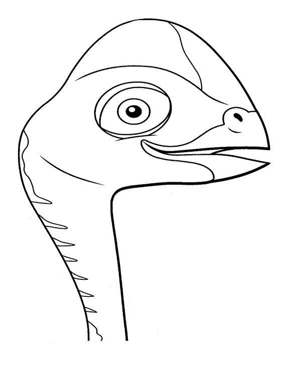 Dinosaurus Train, : Dinosaurus Train Coloring Page