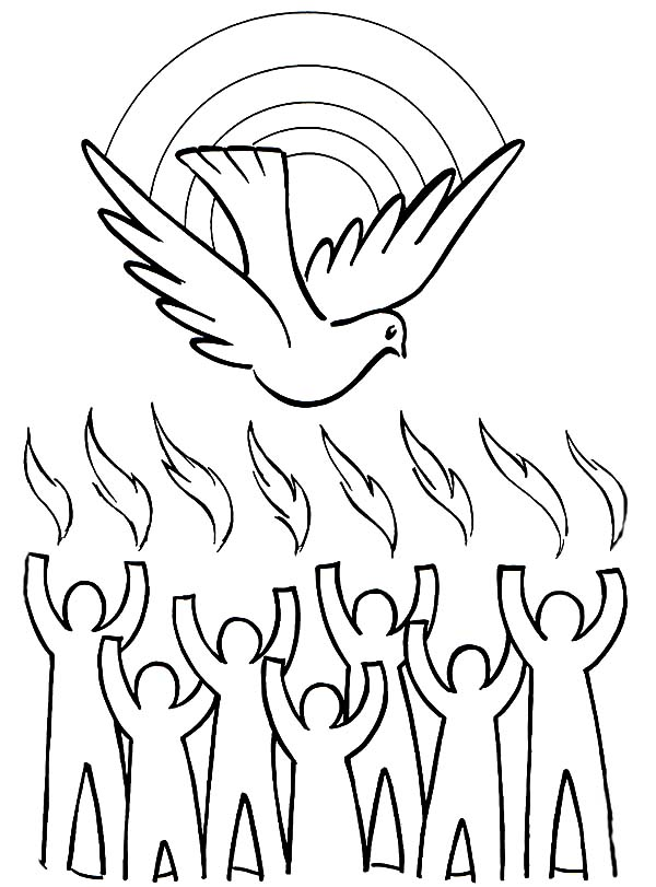 Disciples, : Disciples Coloring Page for Kids