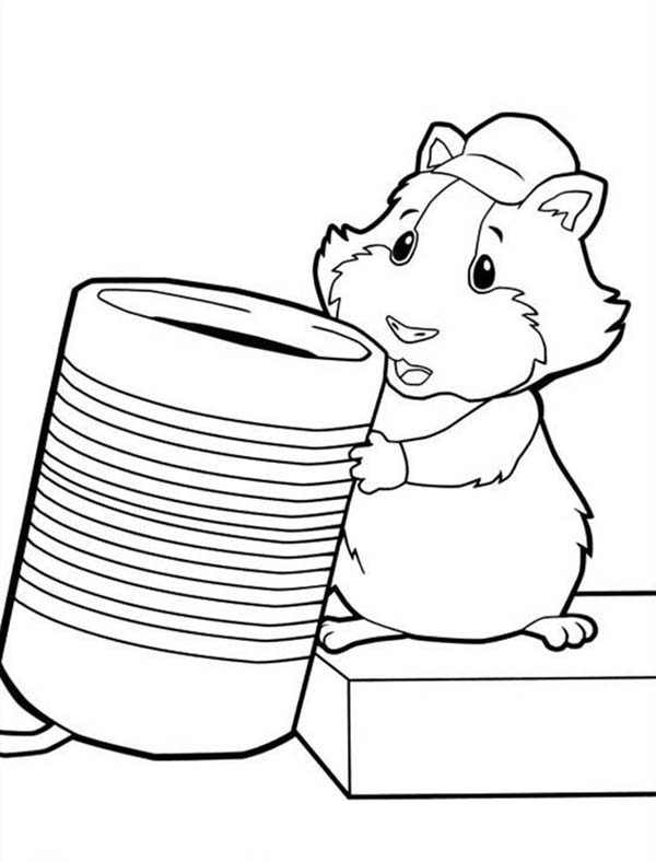 The Wonder Pets, : Linny Found a Glass for Drink in Wonder Pets Coloring Page
