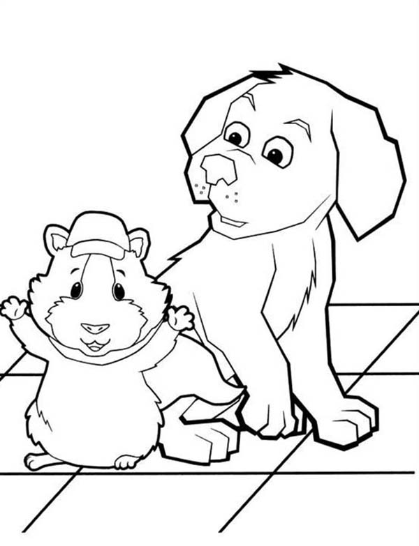 The Wonder Pets, : Linny is Surrender in Wonder Pets Coloring Page