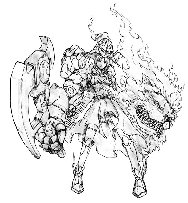The Wizard of Oz, : The Wizard of Oz Manga Version Coloring Page