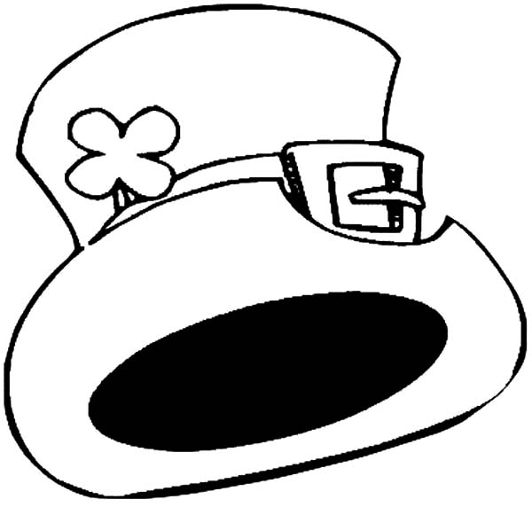 Hat, : Celtic Mascot Hat Coloring Pages
