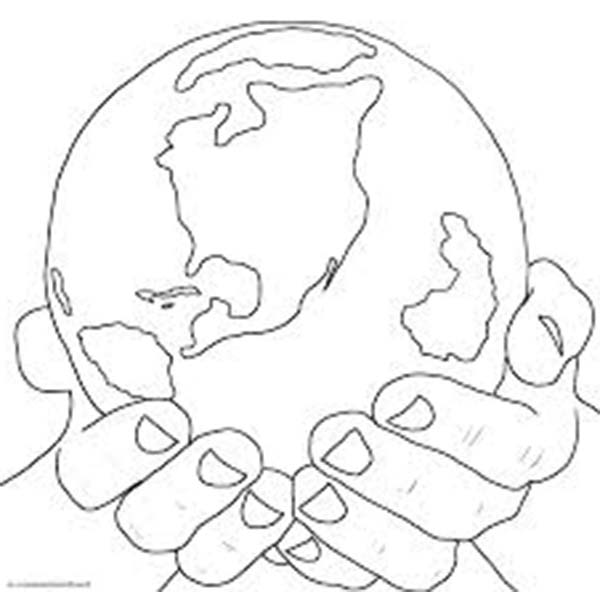 Days Creation, : Days of Creation Earth Coloring Pages