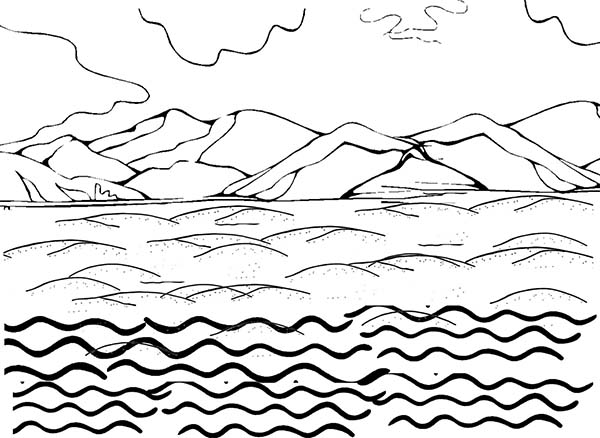 coloring pages land - photo#5
