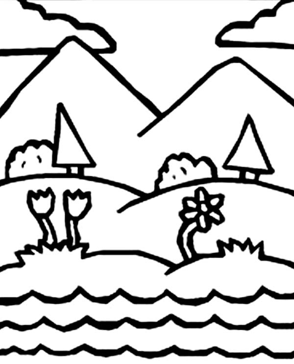days creation drawing days of creation coloring pages
