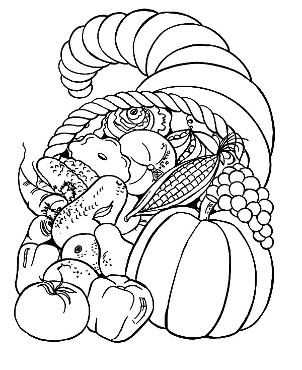 Harvests, : Harvests Coloring Pages