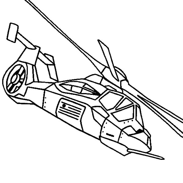 Helicopter, : Helicopter RAH 66 Comanche Coloring Pages