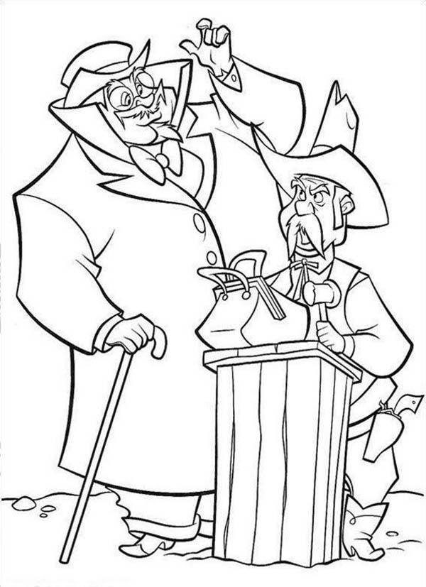 Home On The Prairie, : Home on the Prairie Sheriff on the Auction Coloring Pages