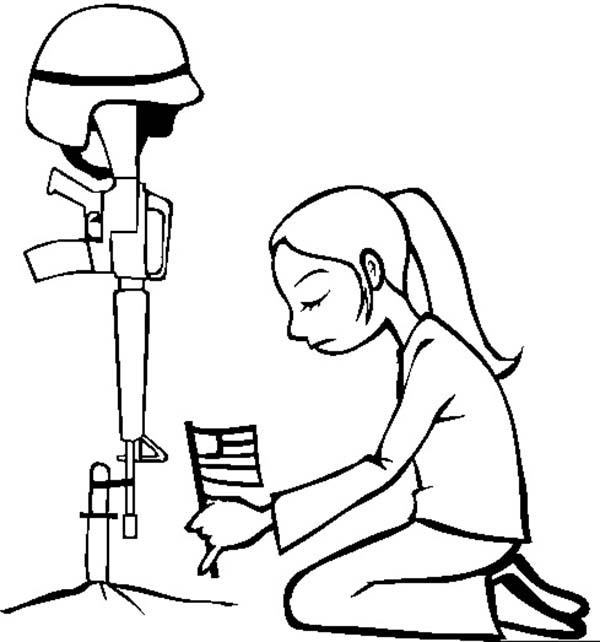 Remembrance Day, : Not Forgotten Remembrance Day Coloring Pages