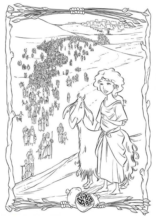 prince of egypt exodus of israelites coloring pages
