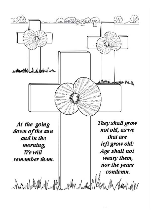 remembrance day remembrance day warrior graveyard coloring pages remembrance day warrior graveyard coloring pagesfull