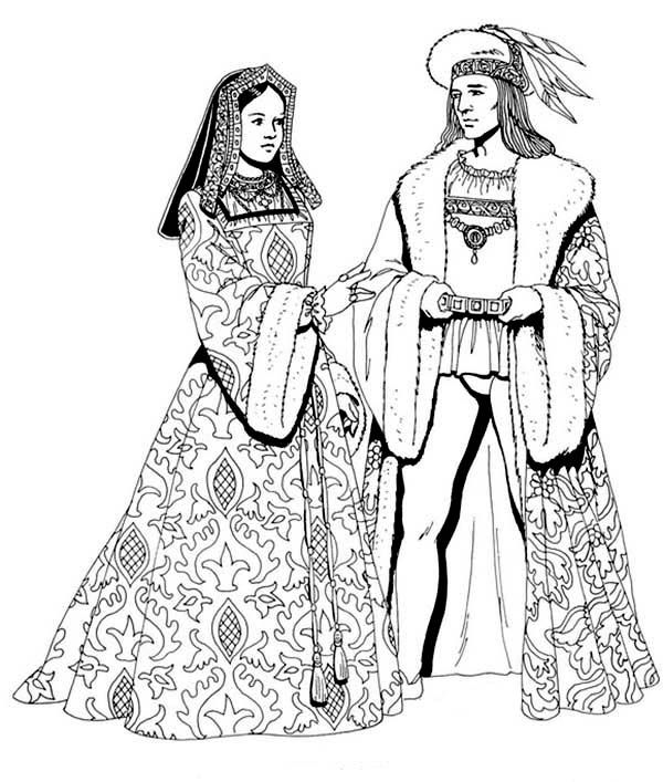 Renaissance, : Renaissance Coloring Pages for Kids