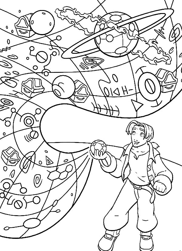 Treasure Planet, : The Sphere Show to Jim Treasure Planet Map Coloring Pages