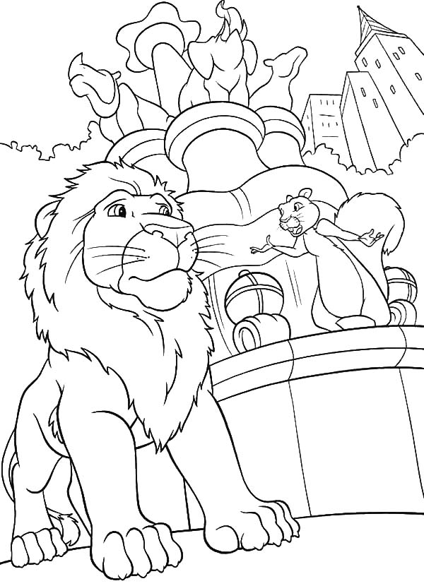 The Wild, : The Wild Benny Tell Samson about Other Animals Coloring Pages