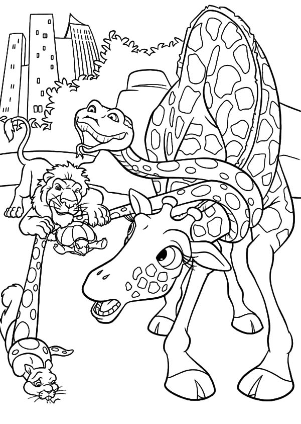 The Wild, : The Wild Playing Bow and Arrow Coloring Pages