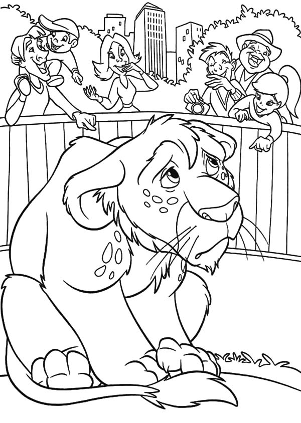 The Wild, : The Wild Ryan Feeling Blue Coloring Pages