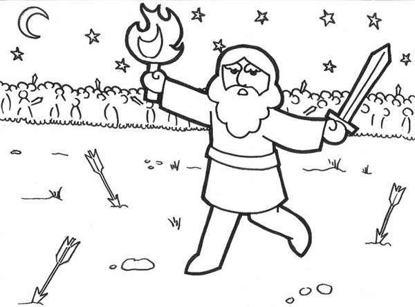 Armor of God, : Armor of God Coloring Page