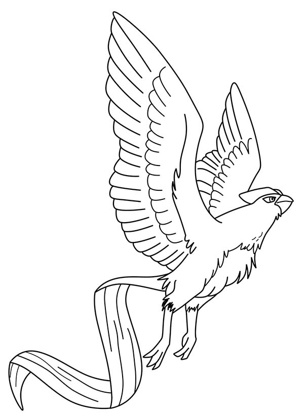 Articuno, : Articuno Pokemon Bird Coloring Page