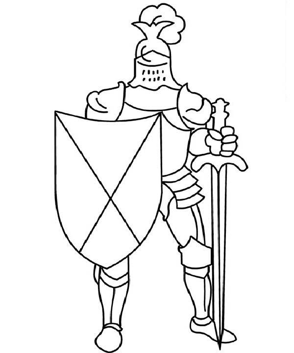 Armor of God, : Awesome Picture of Armor of God Coloring Page