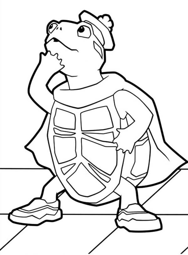 The Wonder Pets, : Awesome Turtle Tuck from Wonder Pets Coloring Page