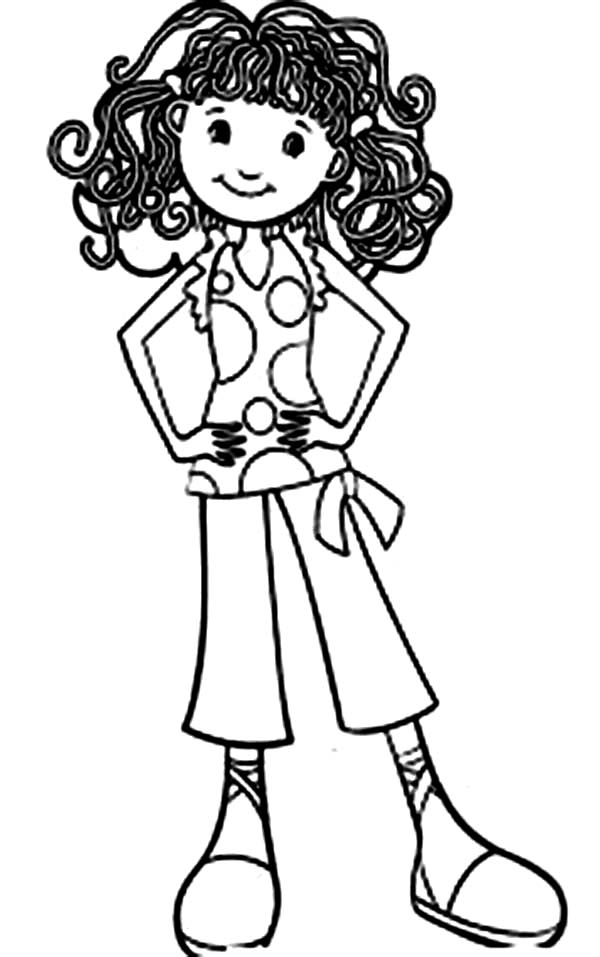 Beautiful Ladies, : Cartoon of Beautiful Ladies Coloring Page