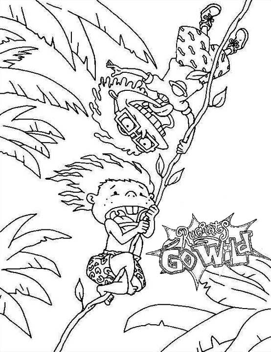 Thornberrys, : Donald Go Wild in the Thornberrys Coloring Page