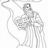 coloring pages ten commandments tablets for sale | Online Free Coloring Pages for Kids - Coloring Sun - Part 78