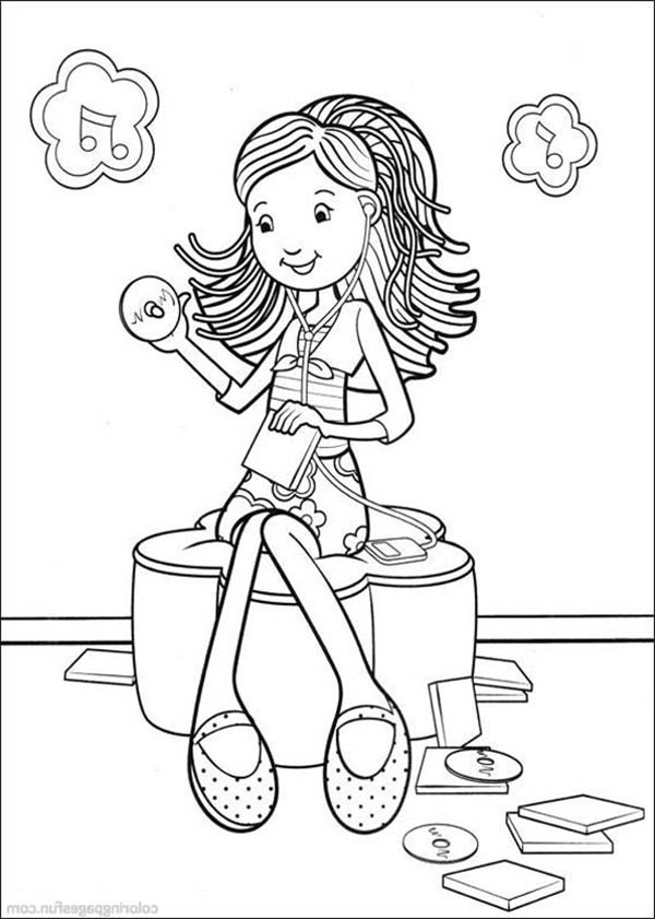 Groovy girl coloring pages - timeless-miracle.com | 841x600