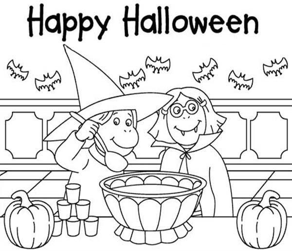 Arthur, : Happy Halloween Arthur Coloring Page