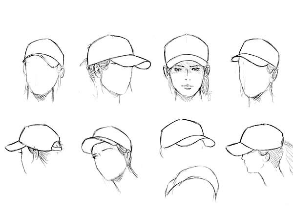 Baseball Cap, : How to Use Baseball Cap Coloring Page