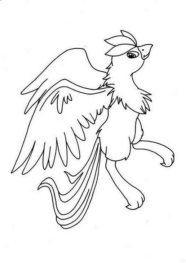 Articuno, : Kids Drawing of Pokemon Articuno Coloring Page