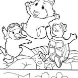 Ming Ming The Pilot In Wonder Pets Coloring Page Coloring Sun