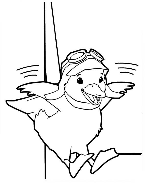The Wonder Pets, : Ming Ming the Duckling Learn to Fly in Wonder Pets Coloring Page