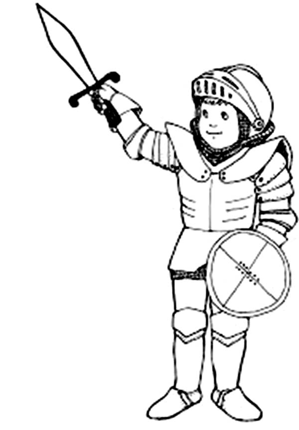 Armor of God, : Play with Armor of God Coloring Page