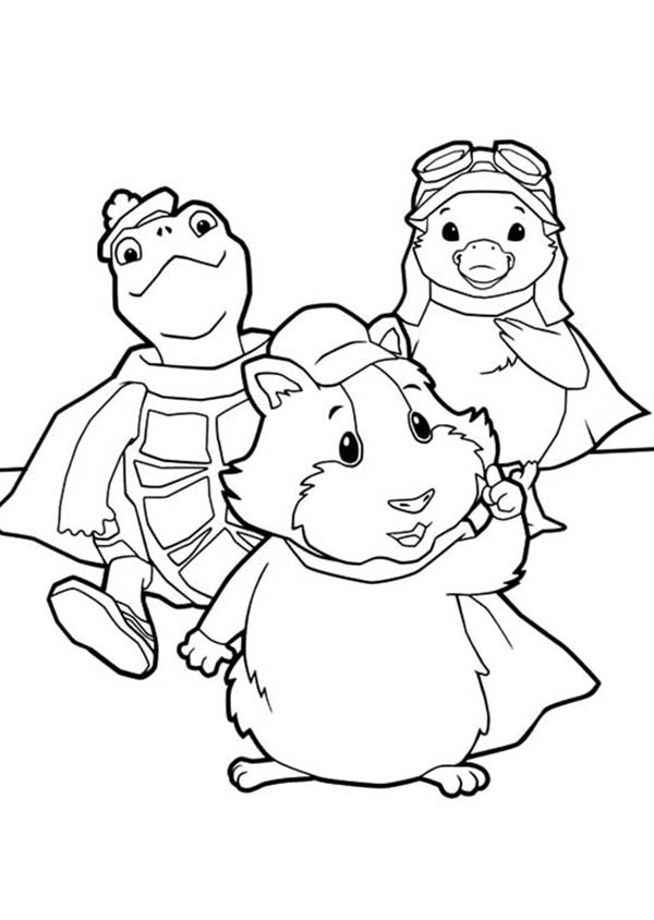The Wonder Pets, : The Amazing Wonder Pets Coloring Page