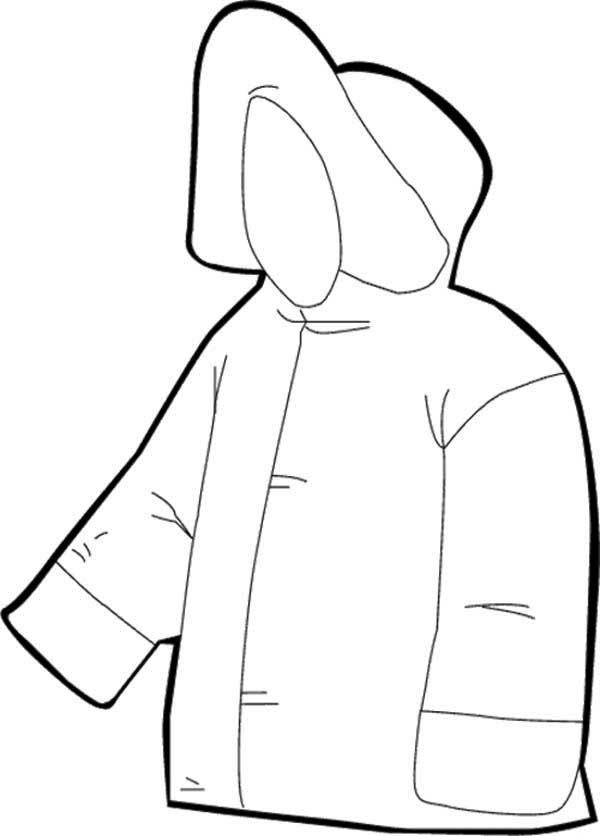 Winter Clothing, : The Best Jacket for Winter Season in Winter Clothing Coloring Page