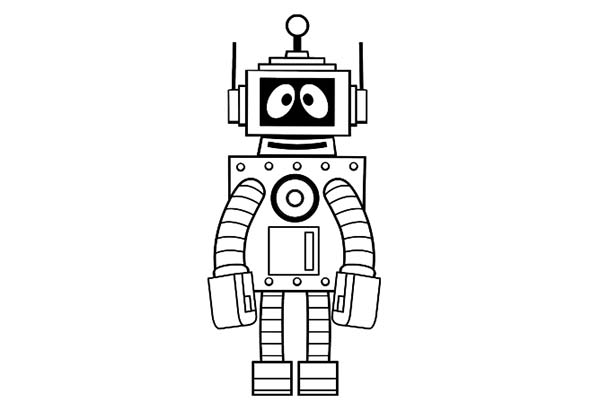 Yo Gabba Gabba, : The Magic Robot Plex from Yo Gabba Gabba Coloring Page