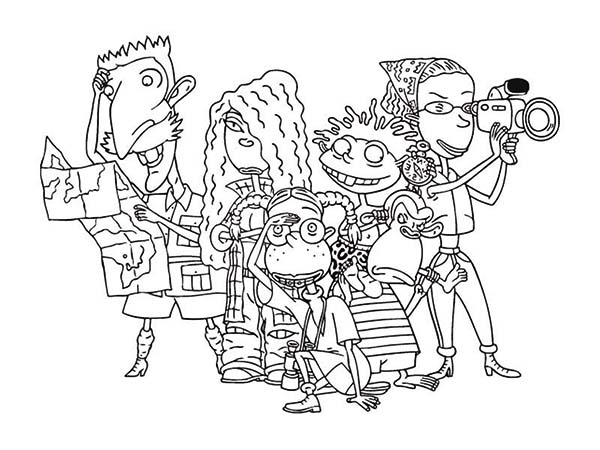 Thornberrys, : The Thornberrys Coloring Page for Kids