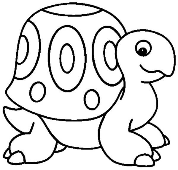 Turtle, : Yertle the Turtle Coloring Page