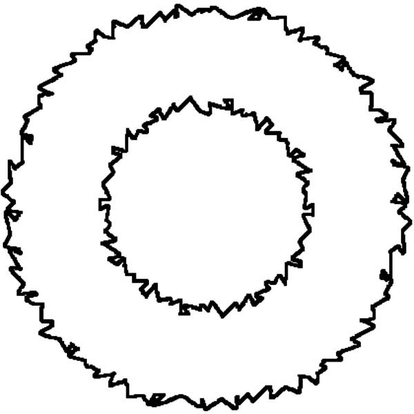 How to Make Your Own Christmas Wreaths Coloring Pages: How ...