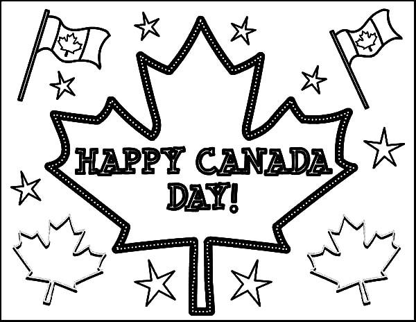 Canada Day, : A Joyful Celebration on Canada Day Celebration Coloring Pages