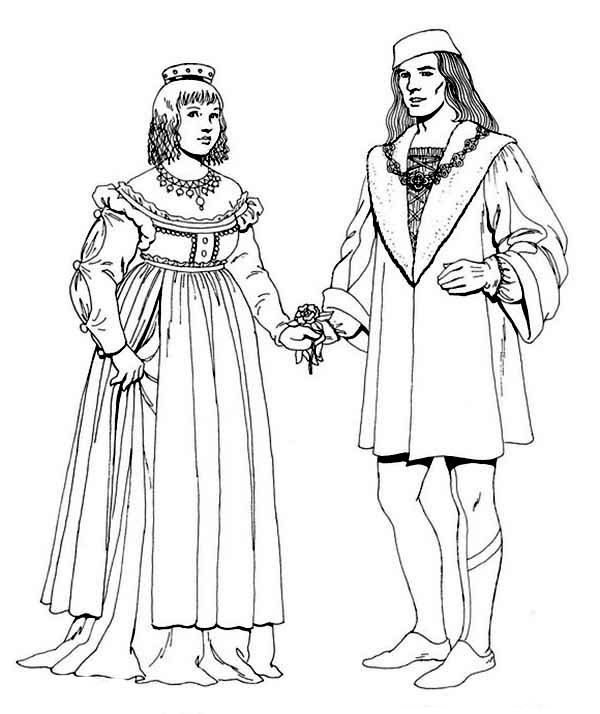 coloring pages for the renaissance - photo#10