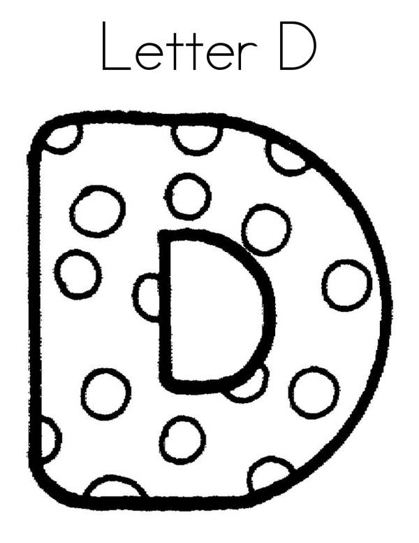 Letter D, : Cheese for Letter D Coloring Page