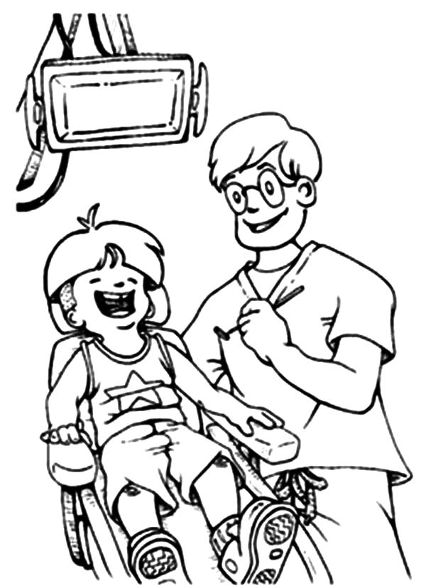 Health, : Dental Health is Important Thing Coloring Pages