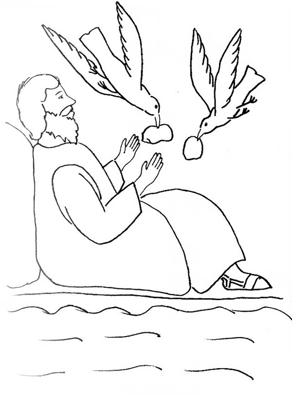 Elijah, : Elijah Widow Zarephath Coloring Pages