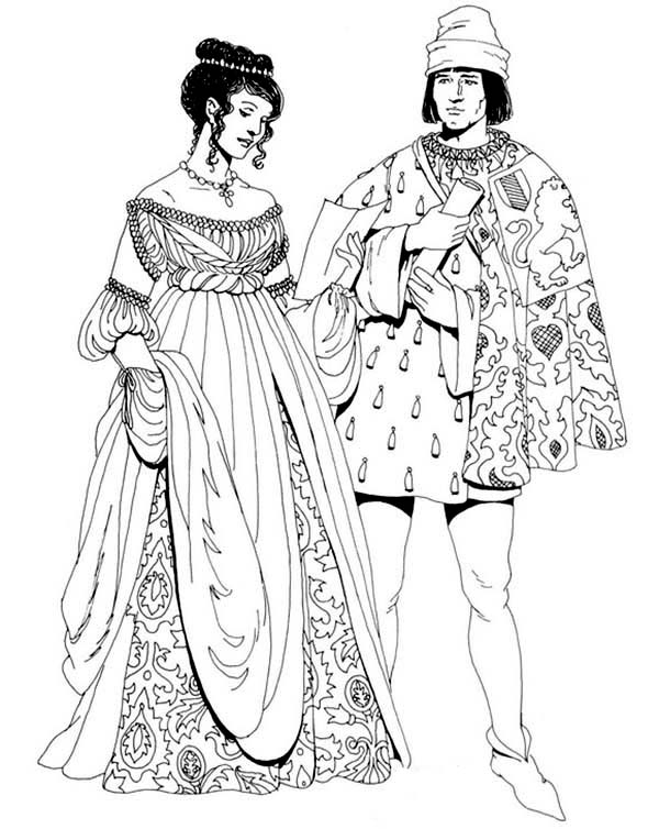 coloring pages for the renaissance - photo#21