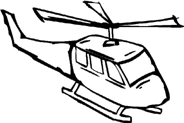 Helicopter, : Firefighting Helicopter Coloring Pages