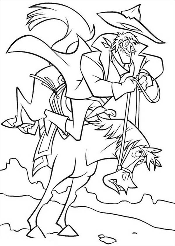 Home On The Prairie, : Home on the Prairie Horse Suddenly Stop Running Coloring Pages